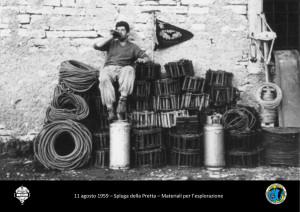 Dario Salmi a guardia dei materiali