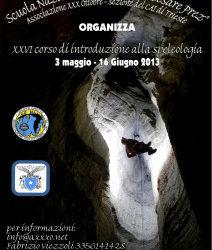 XXVI Corso di Introduzione alla Spelelogia