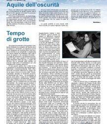 Aquile dell'oscurità – Tempo di grotte – Alpinismo triestino 105/2008