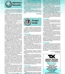 Relazione G. Grotte – Alpinismo triestino n. 88 2005