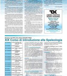 Scuola Cesare Prez – XIX corso introduzione speleologia – Alpinismo triestino 90/2005